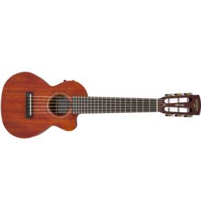Gretsch G9126 A.C.E. Electro Guitar Ukulele with Gig Bag, Honey Mahogany Stain