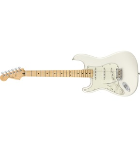 Fender Player Stratocaster Left-Handed, Polar White, Maple