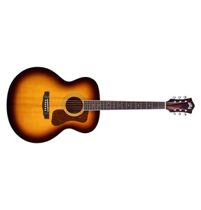 Guild Westerly F-250E Deluxe Electro Acoustic Guitar, Antique Sunburst