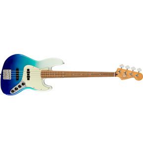 Fender Player Plus Jazz Bass Belair Blue Electric Bass Guitar & Case