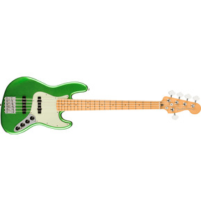 Fender Player Plus Jazz Bass V Cosmic Jade 5-String Electric Bass Guitar & Case