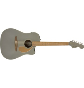 Fender Redondo Player Electro Acoustic Guitar, Slate Satin