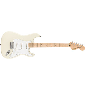 Fender Squier Affinity Series Stratocaster Olympic White Electric Guitar