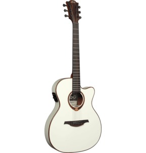 Lag Tramontane 118 T118ASCE-IVO Auditorium Slim Cutaway Electro Acoustic Guitar