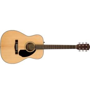 Fender CC-60S Acoustic Guitar, Natural, Walnut