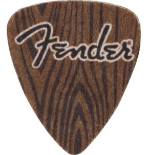 Fender 351 Shape Felt 3mm Ukulele Pick - Pack of 3