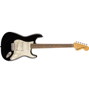 Fender Squier Classic Vibe '70s Stratocaster Black Electric Guitar