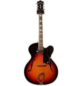 Guild Newark St. A-150 Savoy Electric Guitar, Antique Sunburst & Case