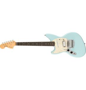 Fender Artist Kurt Cobain Jag-Stang Sonic Blue Left-Handed Electric Guitar & Case