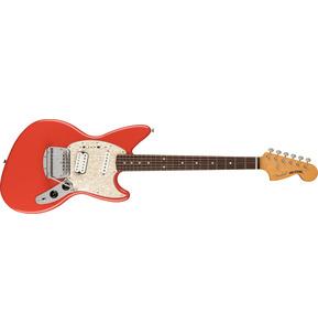 Fender Artist Kurt Cobain Jag-Stang Fiesta Red Electric Guitar & Case