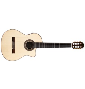Cordoba Espana 55FCE Negra Ziricote Electro Classical Nylon Guitar & Case