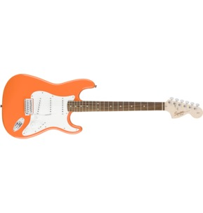 Fender Squier Affinity Series Stratocaster, Competition Orange, Laurel