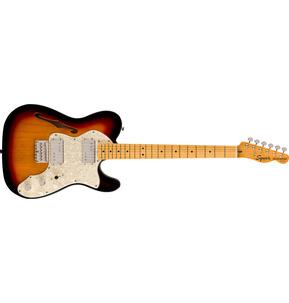 Fender Squier Classic Vibe '70s Telecaster Thinline 3-Colour Sunburst Electric Guitar