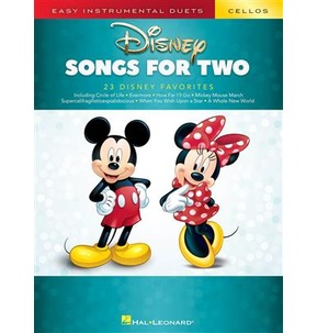 Easy Instrumental Duets - Disney Songs for Two Cellos