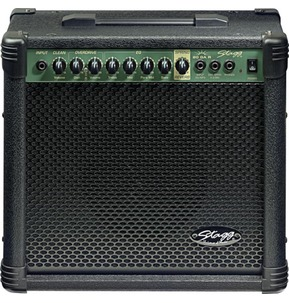 Stagg 20GAR 20 Watt Guitar Amplifier with Spring Reverb