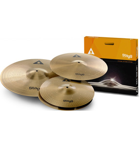Stagg Cymbal Pack - Copper-Steel Cymbal Set