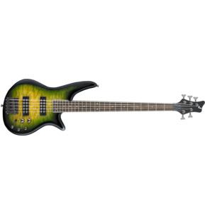 Jackson JS Series Spectra JS3QV Alien Burst 5-String Electric Bass Guitar