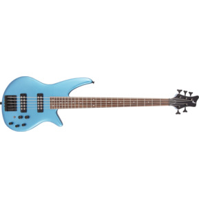 Jackson X Series Spectra SBX V Electric Blue 5-String Electric Bass Guitar