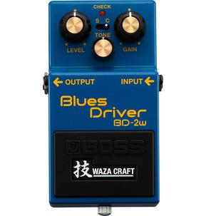 Boss BD-2W Waza Craft Blues Driver Pedal