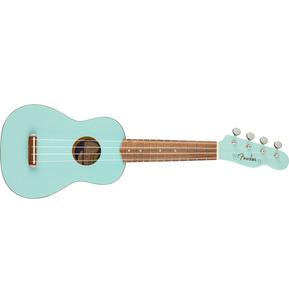 Fender Venice Soprano Ukulele, Daphne Blue