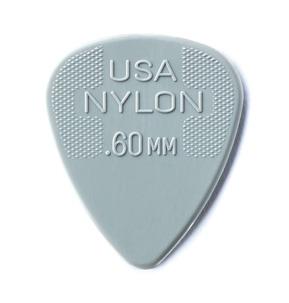 Dunlop Nylon Standard .60mm Guitar Pick - Pack of 12