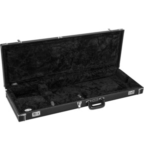 Fender Classic Series Wood Guitar Case - Strat/Tele, Black