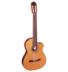 Admira Virtuoso Thinline Electro Classical Nylon Guitar