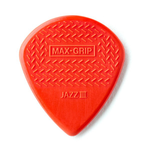 Dunlop Nylon Max-Grip Jazz III 1.38mm Guitar Pick - Pack of 6