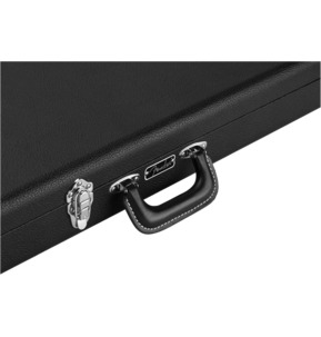 Fender Classic Series Wood Bass Guitar Case - Precision Bass/Jazz Bass, Black