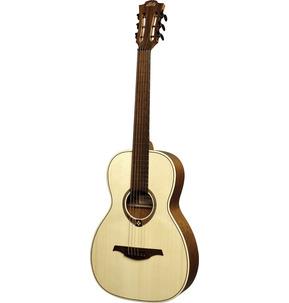 Lag Tramontane 177 T177PE Parlour Natural Electro Acoustic Guitar