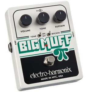Electro Harmonix Big Muff Pi with Tone Wicker Fuzz Pedal