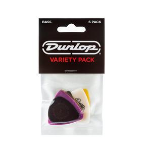 Dunlop Bass Guitar Pick - Variety Pack of 12