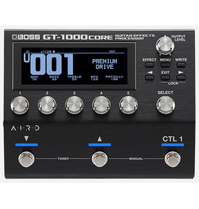 Boss GT-1000 Core Effects Processor Pedal