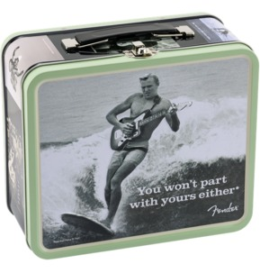 Fender Lunchbox Packed With Strings, Winder, Picks And Electronic Tuner