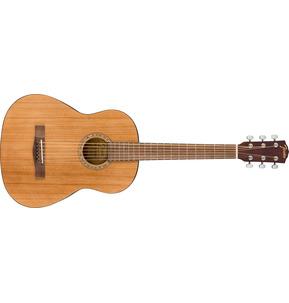 Fender Alternative FA-15 Natural 3/4 Scale Acoustic Guitar & Case