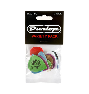 Dunlop Electric Guitar Pick - Variety Pack of 12