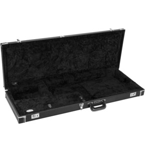 Fender Classic Series Wood Guitar Case - Jazzmaster/Jaguar, Black