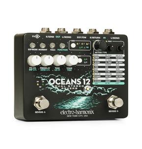 Electro Harmonix Oceans 12 Dual Stereo Reverb Pedal
