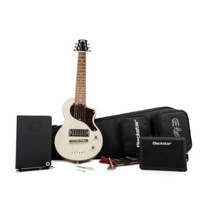 Blackstar Carry-On Electric Travel Guitar Deluxe Pack, Vintage Pack