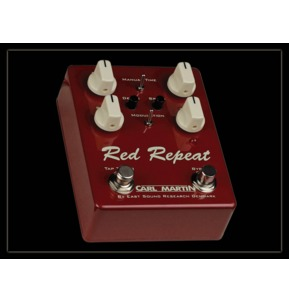 Carl Martin Vintage-Series Red Repeat 2016 Edition Delay