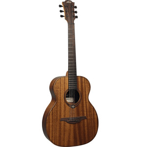 Lag Tramontane TRAVEL-KA Single-O Natural Travel Acoustic Guitar & Case