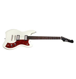 Guild Newark St. Jetstar Electric Guitar, Vintage White