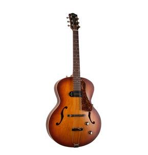 Godin 5th Avenue Kingpin P90 - Cognac Burst Archtop Semi Acoustic Guitar