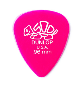 Dunlop Delrin 500 Standard .96mm Guitar Pick - Pack of 12