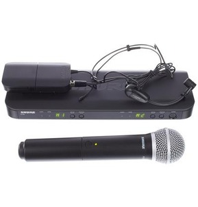 Shure BLX1288/P31 Analog Dual Wireless Microphone Kit