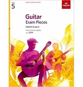 ABRSM Guitar Exam Pieces from 2019, Grade 5