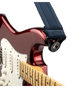 D'Addario Auto Lock Guitar Strap - Midnight