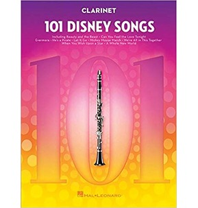 101 Disney Songs: Clarinet