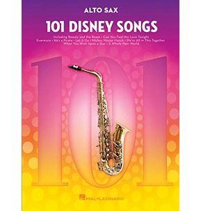 101 Disney Songs - Alto Sax