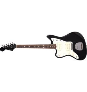 Fender Japan Limited Edition Traditional '60s Jazzmaster Black Left-Handed Electric Guitar & Case